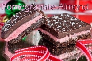 pomegranite nanaimo bars