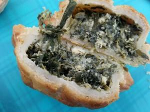 gluten free spanokopita