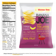Banana Joe's Chips Contain Wheat