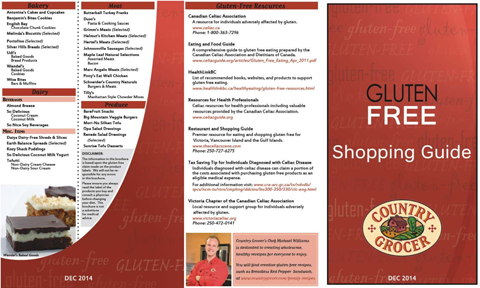 Country Grocer Gluten-Free Guide 1