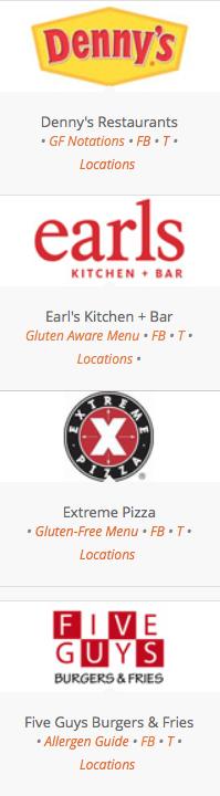 Gluten Free Fast Food 2