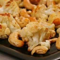 Roasted Cauliflower Cashew