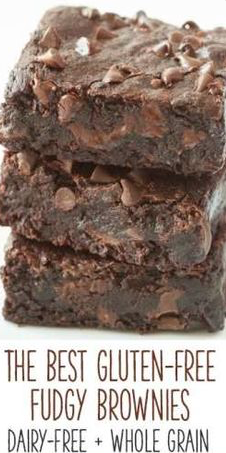 gluten free fudgey brownies