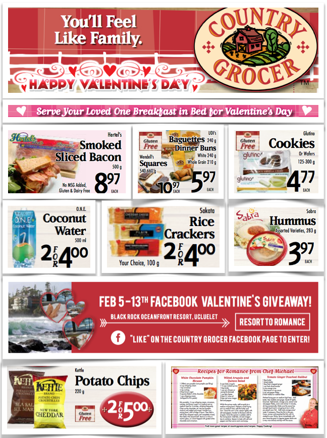 gluten free grocery Country Grocer