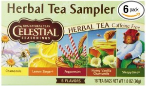 gluten free tea Celestial Seasonings