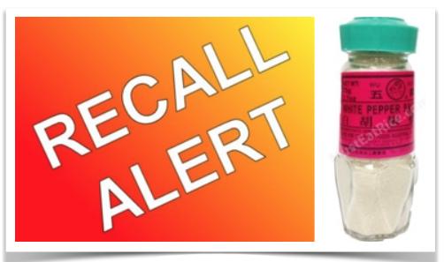 CFIA Food Recall