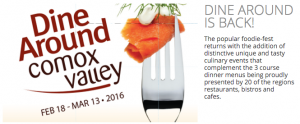 Dine Around Comox Valley