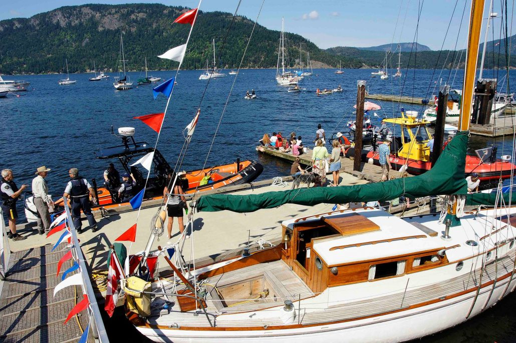 Rock Cod Cafe Wooden Boat Festival