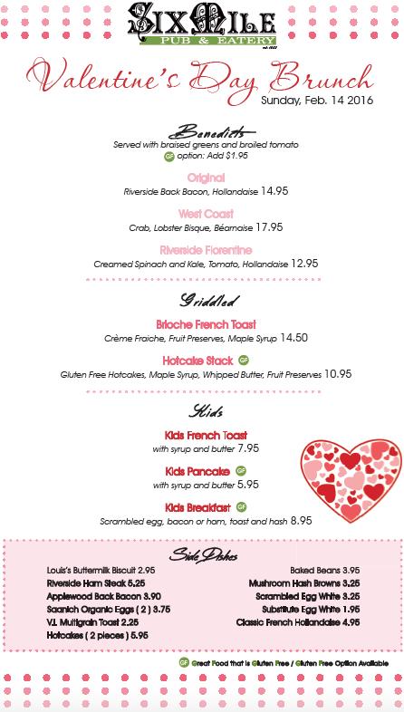 gluten free valentine's day brunch six mile