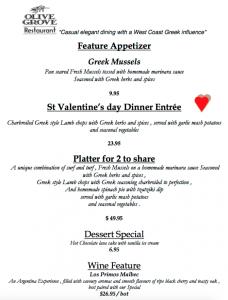 gluten free valentines day olive grove