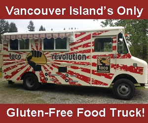 Taco Revolution Food Truck @ Cedar & Yellow Point Christmas Tour | Ladysmith | British Columbia | Canada