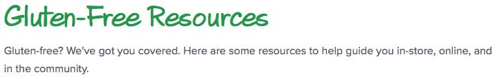 Gluten-Free-Resources