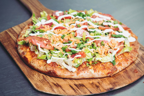 Gluten-Free-Chicken-Taco-Pizza