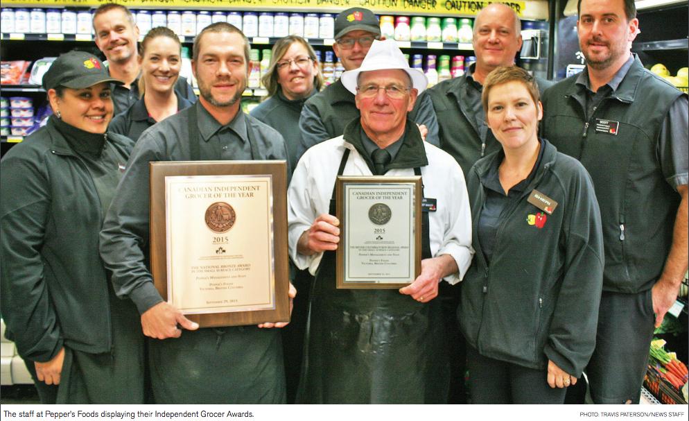 Independent Grocer Award