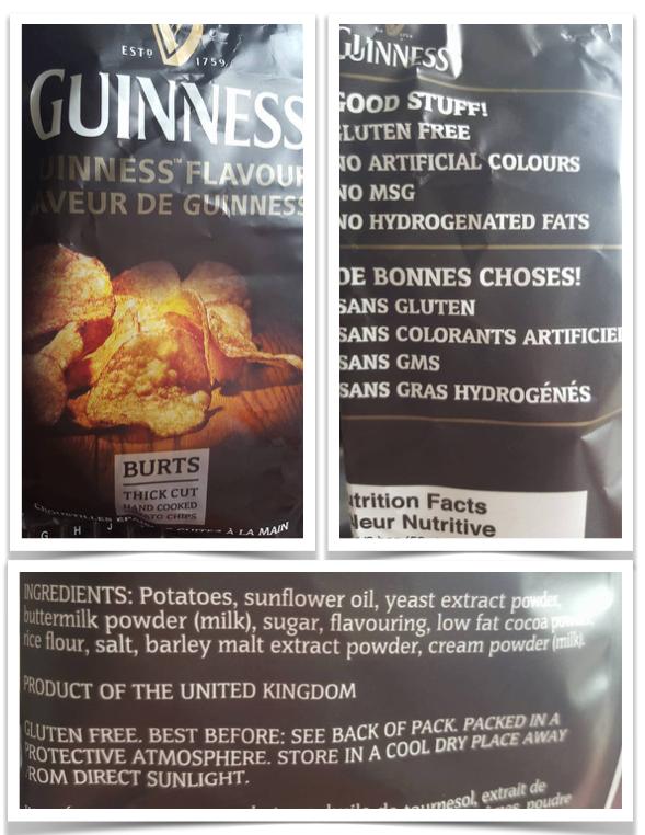 Burt's Guinnness Gluten free barley