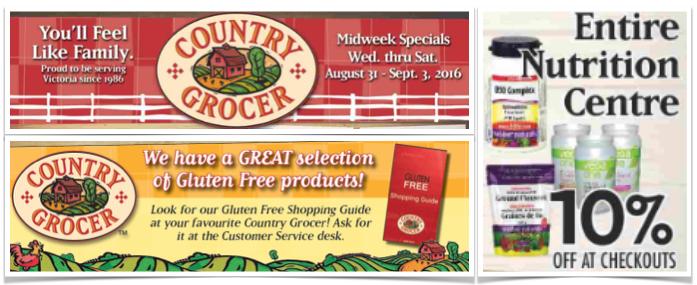 Mid-Week Gluten-Free Specials