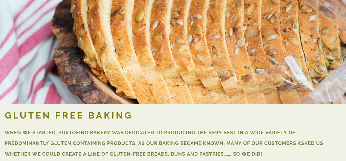 Portofino Gluten-Free Baking