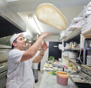 airborne wheat flour