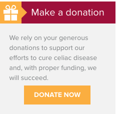 http://www.cureceliacdisease.org/donate/