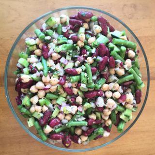gluten free bean salad