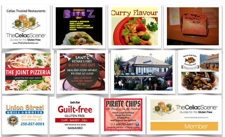 Celiac Safe Restaurants