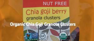 Chia Goji Granola Clusters