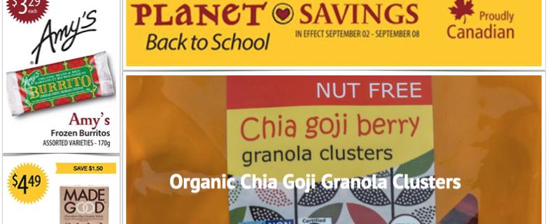 Planet Organic Tasting