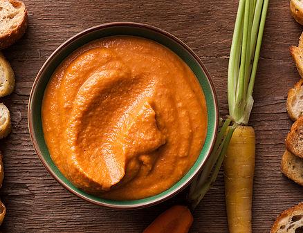 gluten free Zucchini Carrot Hummus
