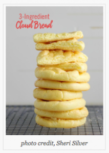 3 Ingredient Cloud Bread
