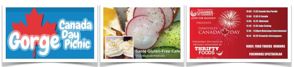 Gluten Free July 1st Victoria BC