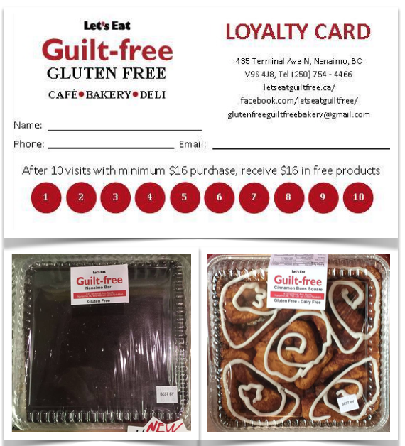 Gluten Free Loyalty Card