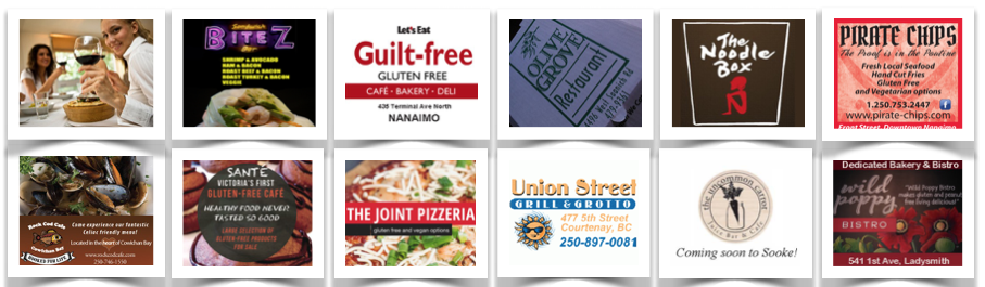 Gluten-Free Restaruants Victoria, Vancouver Island