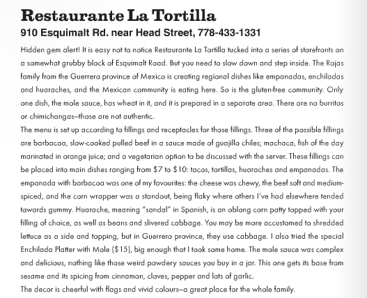 La Tortilla Review EAT Magazine 2