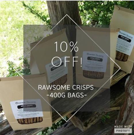 Okanagan Rawsome Sale