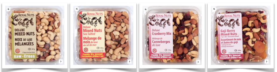 gluten free nuts seeds dried fruit