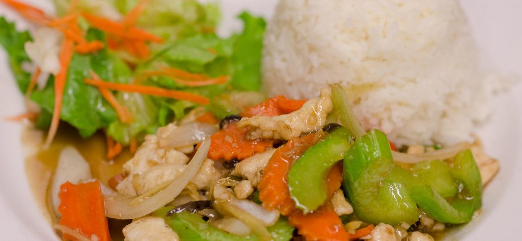 gluten free thai-food-ginger-chicken