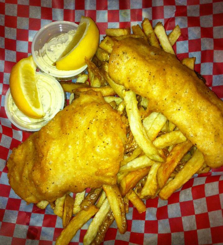 Gluten free fish and chips at pirate chips in nanaimo for Gluten free fish and chips
