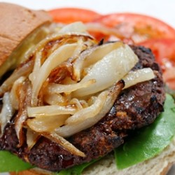 Gluten Free Cumin Molasses Spiced Burgers