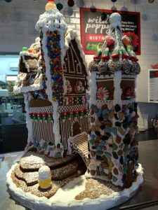 Wild Poppy Gingerbread House