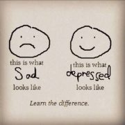 sad depression