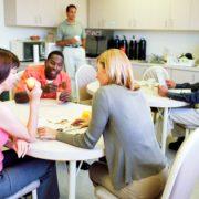 staff lunchroom