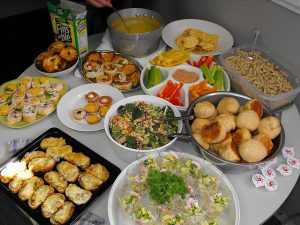 workplace potluck