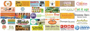 Gluten-Free Manufacturers September 2016