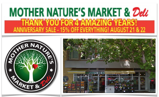 Mother Nature's 4th Anniversary