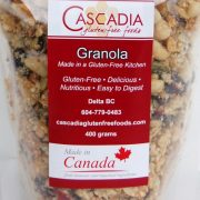 Cascadia Gluten-Free Granola