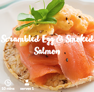 corn-thins-scrambled-egg-smoked-salmon