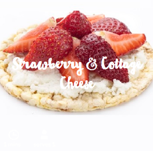 corn-thins-strawberry-cottage-cheese