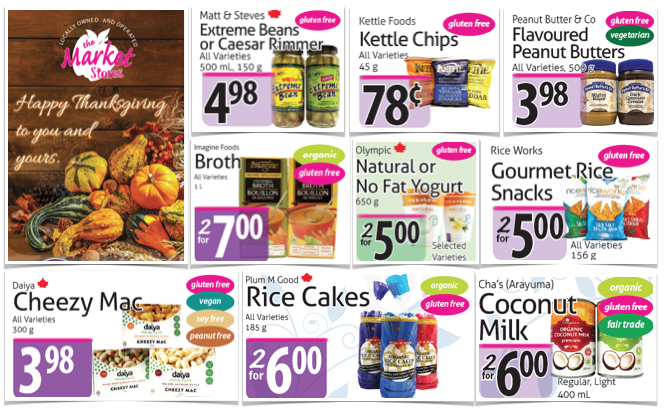 Gluten Free Flyer The Market Stores