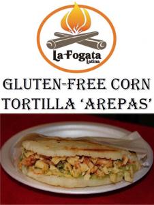 La Fogata Latina Corn Arepas