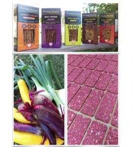 Okanagan Rawsome Beet Crisps @ Planet Organic | Victoria | British Columbia | Canada